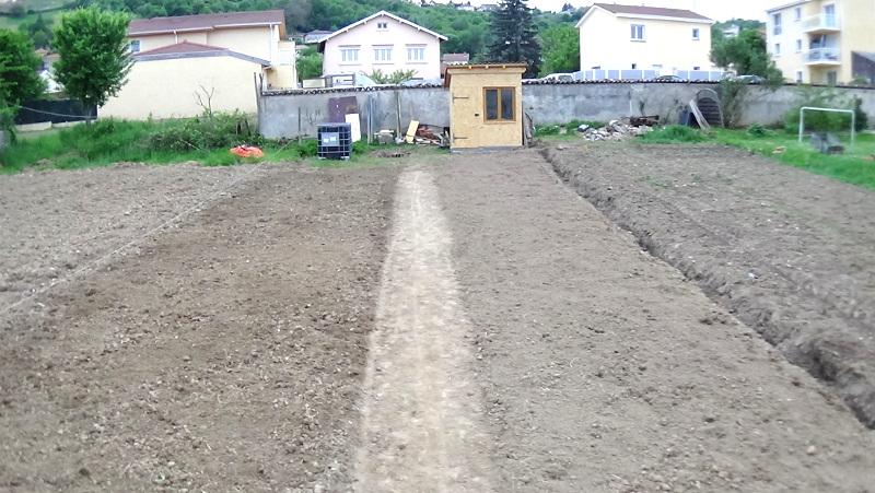 Jardin préparé